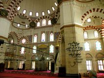 Bayezid II Mosque 8. The Beyazidiye Camii was commissioned by Ottoman Sultan Bayezid II, and was the second large imperial mosque complex to be erected in Stock Photography