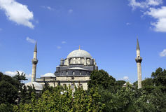 Bayezid Mosque. Bayezid II Mosque in Istanbul,Turkey Royalty Free Stock Photography