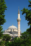 Bayezid Mosque in Istanbul royalty free stock photo