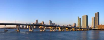 bayfront Miami Obrazy Stock