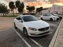 Bayfront Park Cars. View from Bayfront Park featuring Volvo S60 at Sunrise November/17 Royalty Free Stock Photos