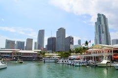 Bayfront park Miami Zdjęcia Royalty Free