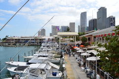Bayfront Park in Miami Stock Photography