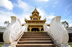 Bayinnaung pałac w Myanmar Zdjęcie Stock