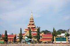 Bayintnaung ή σημείο Βικτώριας στο δήμο Kawthaung Taninthayi το Μιανμάρ Στοκ Εικόνες