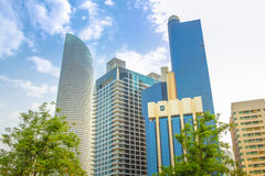 Baynunah Hilton Tower Royalty-vrije Stock Foto