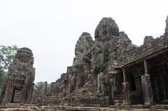 Bayon寺庙在柬埔寨 免版税库存图片