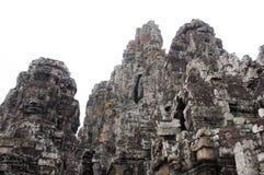 Bayon寺庙在柬埔寨 库存照片