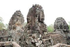 Bayon寺庙在柬埔寨 图库摄影