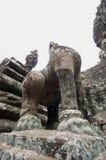Bayon寺庙在柬埔寨 库存图片