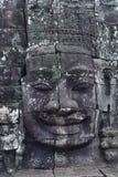 Bayon寺庙在吴哥城 图库摄影