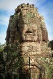 Bayon寺庙在吴哥窟,柬埔寨 免版税图库摄影