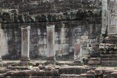 Bayon寺庙,吴哥,暹粒,柬埔寨 免版税库存图片