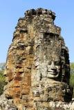 Bayon寺庙,柬埔寨 库存图片