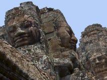 Bayon寺庙- Angkor Wat -柬埔寨 免版税库存图片