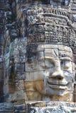 bayon菩萨・柬埔寨表面s寺庙 免版税库存图片