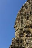 Bayon面对,吴哥城寺庙  库存图片