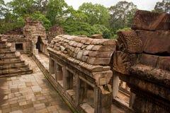 Bayon Świątynny Angkor Thom Zdjęcia Royalty Free