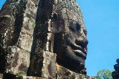 Bayon Świątynny Angkor Thom Obrazy Stock