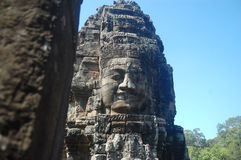 Bayon Świątynny Angkor Thom, Kambodża zdjęcie royalty free