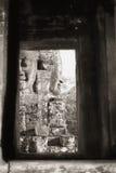 bayon ναός προσώπου στοκ εικόνες