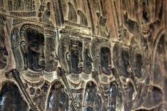 bayon ναός προσώπων Angkor Wat Καμπότζη Στοκ φωτογραφία με δικαίωμα ελεύθερης χρήσης