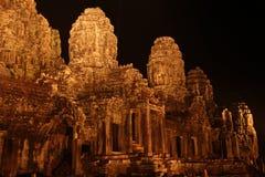 bayon ναός της Καμπότζης riep πλησίον siem Καμπότζη η banteay λίμνη της Καμπότζης angkor lotuses συγκεντρώνει siem το ναό srey Στοκ φωτογραφία με δικαίωμα ελεύθερης χρήσης