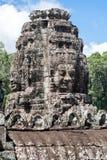 Bayon σε Angkor, Καμπότζη Στοκ εικόνες με δικαίωμα ελεύθερης χρήσης