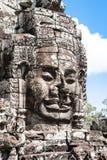 Bayon σε Angkor, Καμπότζη Στοκ Φωτογραφία