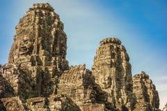 bayon Камбоджа около виска siem riep Стоковые Изображения
