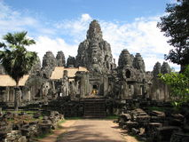 Bayon. Photo of the Bayon temple in the Angkor Wat temple complex in Siem Reap, Cambodia Royalty Free Stock Images