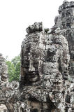 Bayon. Ankor wat style temple built in the second half of the 12th century in cambodia siem reap ankorian period Royalty Free Stock Photos