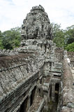 Bayon. Ankor wat style temple built in the second half of the 12th century in cambodia siem reap ankorian period Stock Photography
