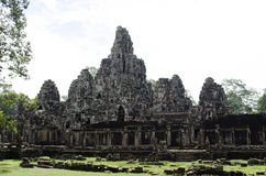 Bayon. Ankor wat style temple built in the second half of the 12th century in cambodia siem reap ankorian period Stock Images