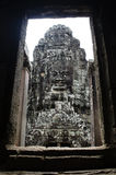 Bayon. Ankor wat style temple built in the second half of the 12th century in cambodia siem reap ankorian period Stock Photos