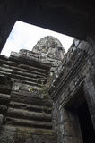 Bayon. Ankor wat style temple built in the second half of the 12th century in cambodia siem reap ankorian period Royalty Free Stock Photography