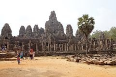 Bayon Royalty-vrije Stock Afbeelding