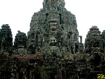The Bayon, Angkor, Cambodia Royalty Free Stock Images