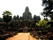 The Bayon, Angkor, Cambodia Royalty Free Stock Image
