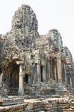 Bayon in Angkor, Cambodia Royalty Free Stock Photos