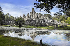 Bayon, Angkor, Cambodia. UNESCO World Heritage Site. Stock Photo