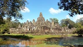 Bayon, Angkor, Siem Reap, Cambodia. Bayon Temple of Angkor Thom in Siem Reap, Cambodia Royalty Free Stock Photos