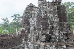 Bayon, Angkor Thom στην Καμπότζη Στοκ Φωτογραφία