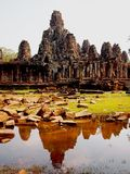Bayon Angkor Thom Stock Photos