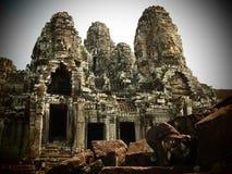 Bayon Angkor Thom Stock Images