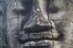 The Bayon Angkor Thom Cambodia Royalty Free Stock Photography