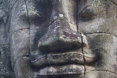 Bayon Angkor Thom Kambodża Fotografia Royalty Free
