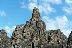 Bayon, Angkor Thom , Siem Reap Cambodia Stock Images