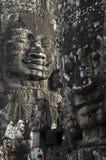 Bayon. Angkor Wat. Το Siem συγκεντρώνει. Καμπότζη Στοκ Φωτογραφία