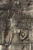 Bayon. Angkor Wat. Το Siem συγκεντρώνει. Καμπότζη Στοκ Εικόνες